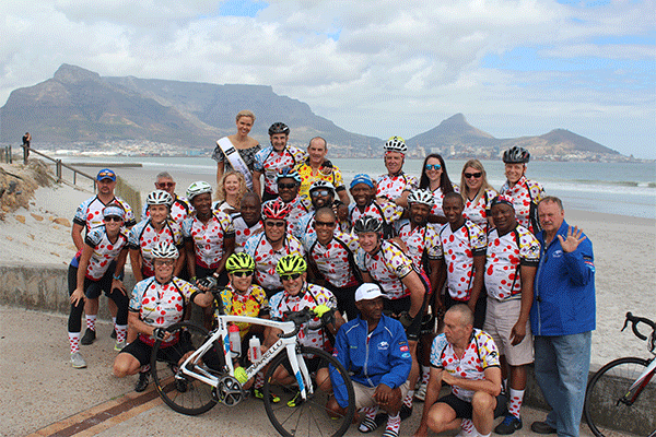 <p>1,749km ride from&nbsp;Sun City to Table Bay</p>