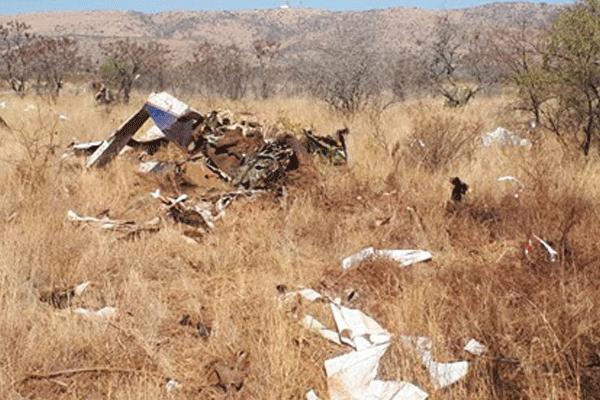 <p>Aircraft crash:two killed</p>
