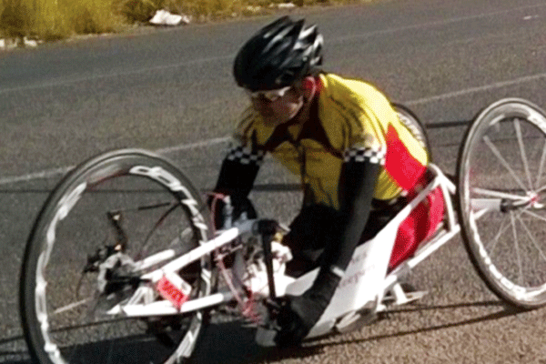 Rustenburg�s very own Andries Scheepers will be representing our country and our city in this year�s Para Cycling Road World Championship.