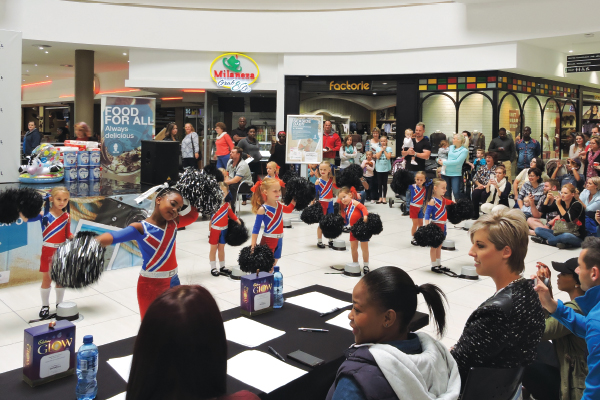 <p>SUNNY SMILES at Waterfall Mall&rsquo;s Seaside Baby Pageant!&nbsp;</p>