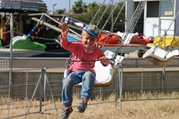 The young ones enjoyed the day almost more than the adults!