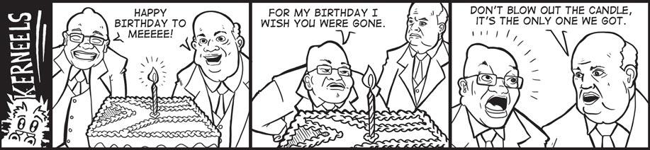 Kerneels - Zuma Birthday